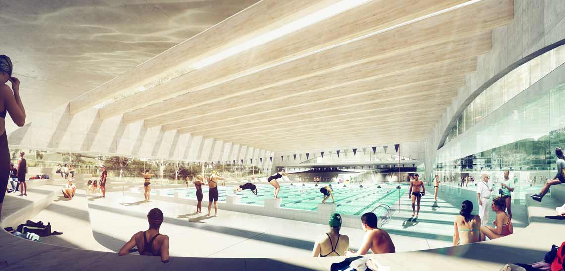 Indoor 25 metre pool